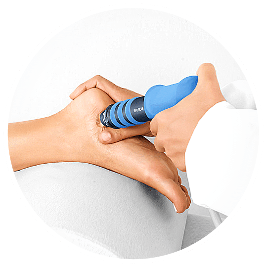 shockwave therapy chronic heel pain plantar fasciitis